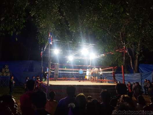 ムアタイ、ボクシングもお楽しみ