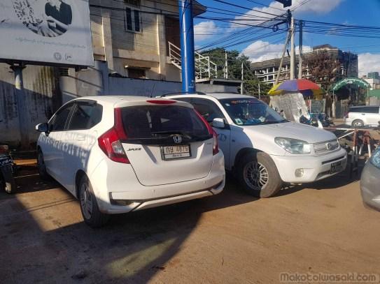ラショ市内駐車