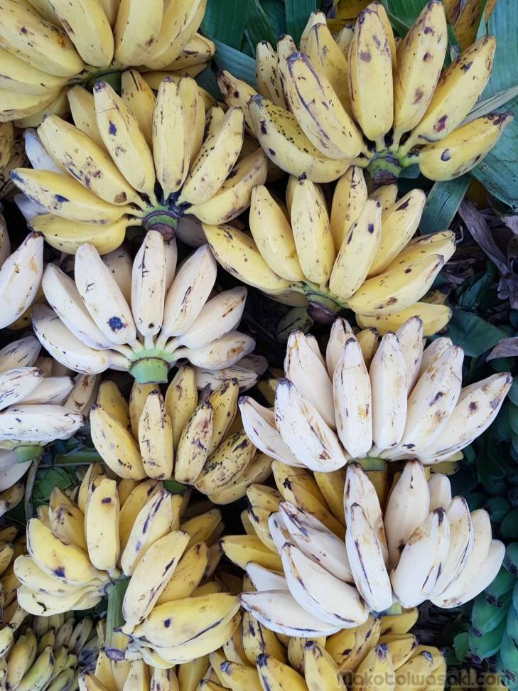 この形のバナナはまずい