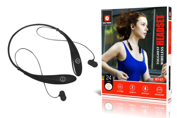 Mak Power Bluetooth Headset Neckband BT 07