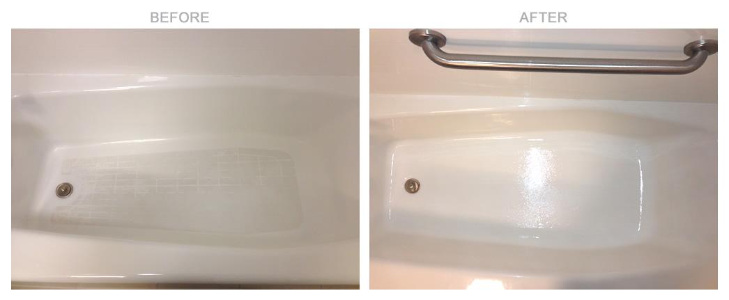 Hotel Bathtub Non Skid Bottom Coating MAK Resurfacing