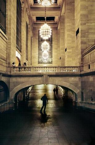 Steve McCurry,USA. NYC. 2010. Grand Central Station. (From McCurry's last roll of Kodachrome.)