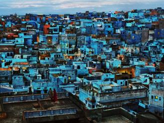 Steve McCurry,INDIA. Jodhpur, Rajasthan. 2010. Blue City.