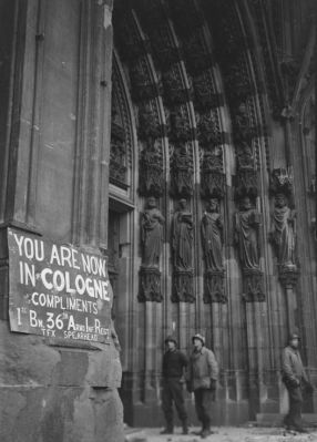 ColognMargaret Bourke-Whitee Cathedral Damage