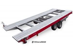 Autotrailer Model A 2700 kg 2 aksler Temared