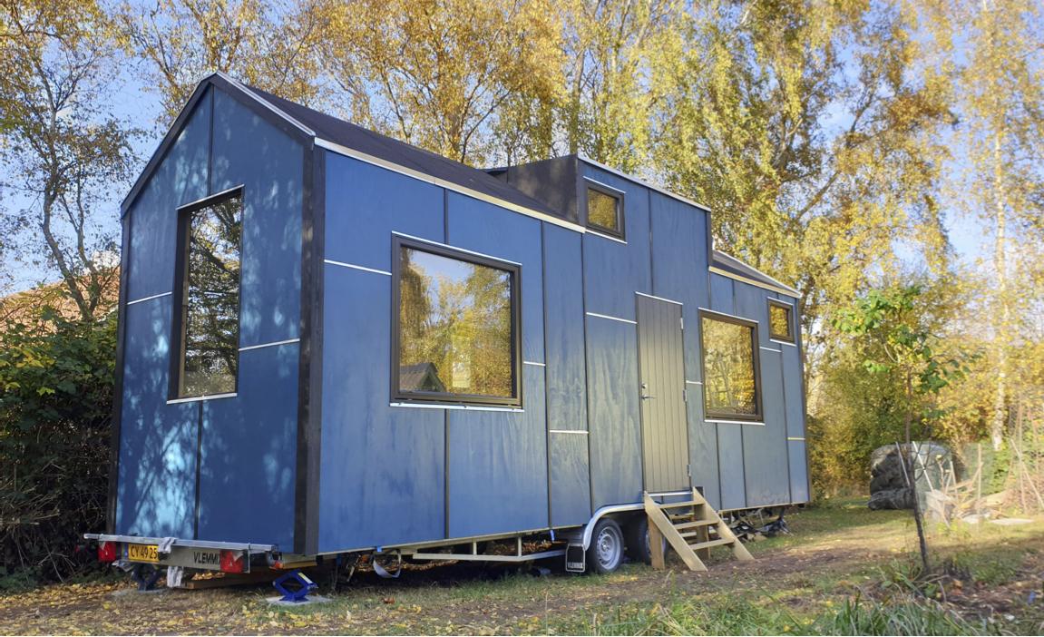 Tiny house på en trailer?