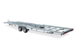 Tiny house trailer Model U 3500 kg 2-aksler Vlemmix