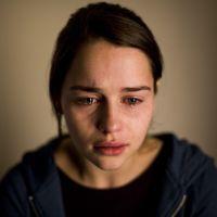 Actress Emilia Clarke, Samaritans Ad Campaign