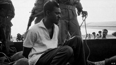 "Photo of Lumumba,""Afrika'nın Che Guevarası"""