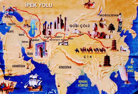 Antik Yollar : Dünya tarihini yön veren 8 antik ticaret yolu maksatbilgi