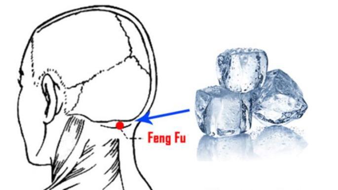 Feng Fu Noktasına Buz Koymanın İnanılmaz Etkileri!