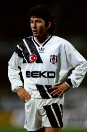 2 Nov 1993: Sergen of Besiktas stands with his hands on his hips during a match against Ajax at the Inonn Stadium in Istanbul, Turkey. Ajax won the match 4-0. Mandatory Credit: Clive Brunskill/Allsport