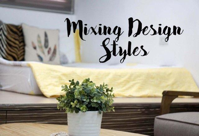 Mixing Design Styles
