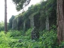 S-W corner of the Walls 5 - pillars