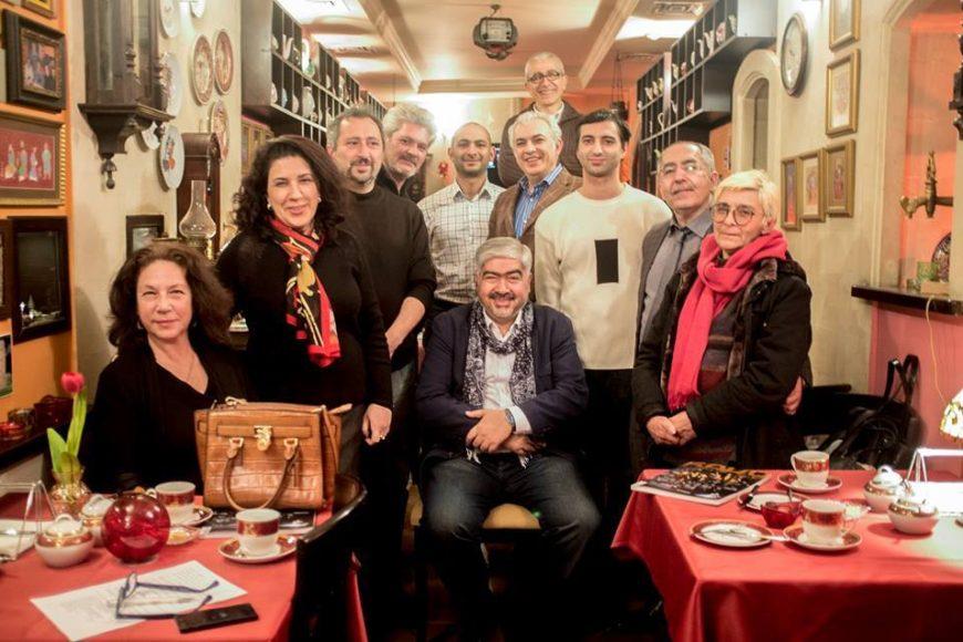 В Центре творчества Максуда Ибрагимбекова прошла очередная встреча клуба Artlogos