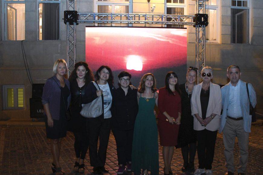 """Beynəlxalq incəsənət festivalı çərçivəsində """"Qız Qalası. Qadın olmaq"""" poeziya gecəsi keçirilmişdir"""