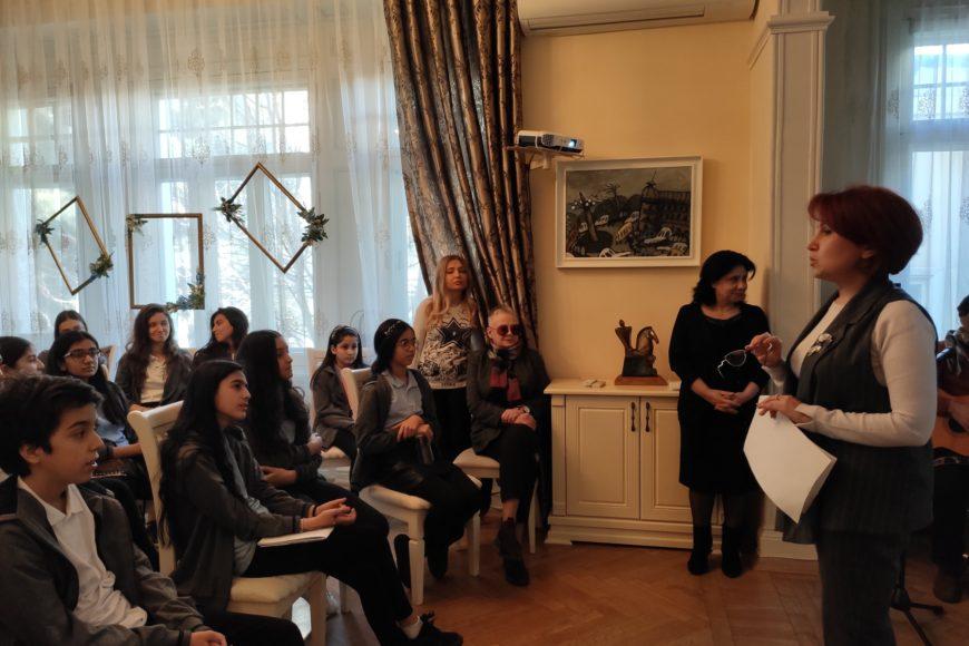 В нашем Центре открытый урок литературы Baku Oxford School