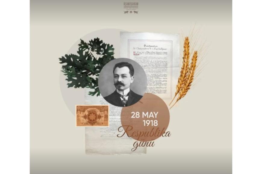 Azərbaycan Xalq Cümhuriyyətinin yaranmasının 102-ci il dönümüdür