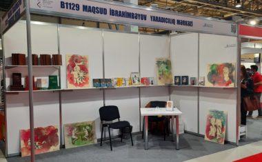 Центр творчества Максуда Ибрагимбекова представлен на международной выставке «Baku International Book Fair 2021»
