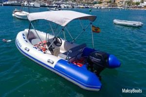 Alquiler de embarcaciones Rib Sport sin licencia en Port de Sóller, Mallorca