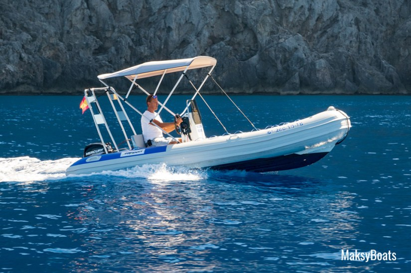 Boat hire without license in Port de Sóller (Mallorca), Tarpon 470 Luxe