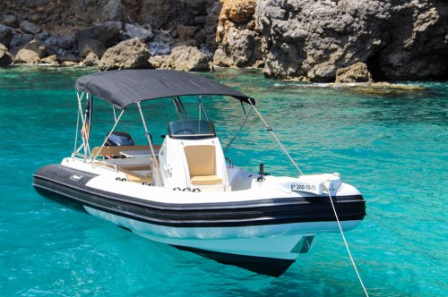 Boat Hire with license Port Soller Rib Tarpon 790