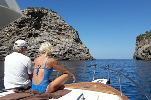 Alquiler Barco Mar Blu Port Sóller Mallorca