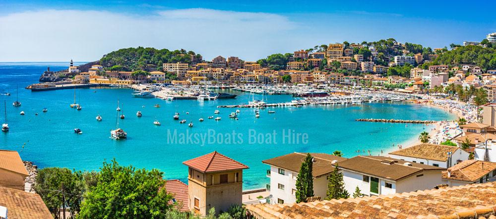 Port de Sóller, Mallorca, alquiler de embarcaciones Maksyboats