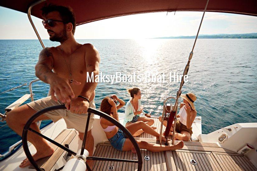 Paseo privado en barco Sa Calobra, Mallorca, MaksyBoats