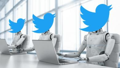 الحسابات المزيفة على تويتر