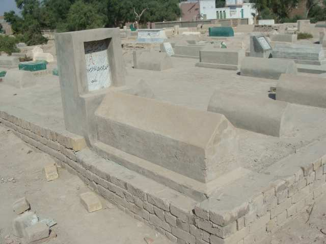 The tomb of Mawlana Aqil Muhammad, teacher of Shaykh Abd al-Ghaffar Fazali Naqshbandi