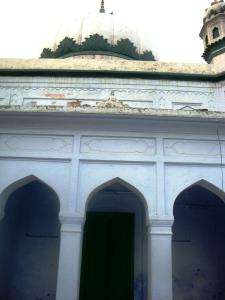 Backside of the tomb