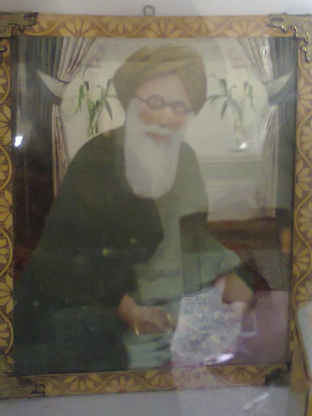 Another picture purported to be of Khwaja Ghulam Hasan Suwag