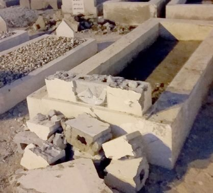 Noble grave of Shaykh Hijazi, destroyed by ignorant Wahhabi extremists