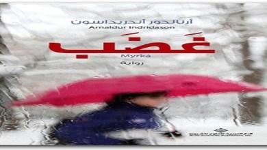 Photo of رواية غضب أرنالدور أندريداسون PDF