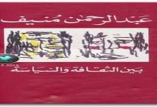 Photo of كتاب بين الثقافة والسياسة عبد الرحمن منيف PDF