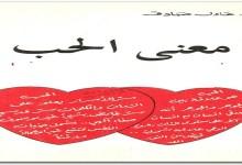 Photo of كتاب معنى الحب عادل صادق PDF