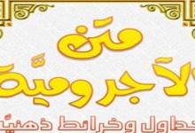 Photo of كتاب متن الأجرومية خرائط وجداول ذهنية ليث العراقي PDF