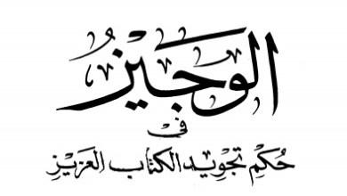 Photo of كتاب الوجيز في حكم تجويد الكتاب العزيز محمد بن سيدي محمد محمد الأمين PDF
