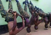 Nigerian Soldiers VACHIMAMA at training - photo