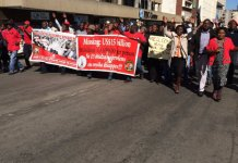 PICTURES: Its RIOT POLICE VS MDC-T at Harvest House in Harare