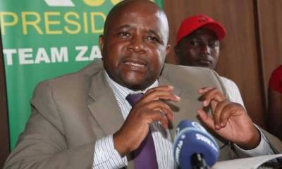 """Zanu-PF youth secretary Pupurai Togarepi was yesterday involved in a road accident when his vehicle hit a stray cow and veered off the road, while on his way to Esigodini for the Zanu-PF's 17th National People's Conference The accident occurred just after Whawha Prison along the Mvuma-Gweru highway He escaped with minor injuries. His vehicle was a complete write-off. Speaking to The Herald last night from Gweru General Hospital where he was receiving treatment, Togarepi described the accident as horrific. He said his driver sustained severe injuries. """"It was just after Whawha when a cow suddenly entered the road. The driver had little time to react and struck the beast. The vehicle flew into the bush and hit a tree."""" Stray animals are a major concern along highways as they often cause accidents. Government once suggested fencing farms along highways. Source: The Herald"""