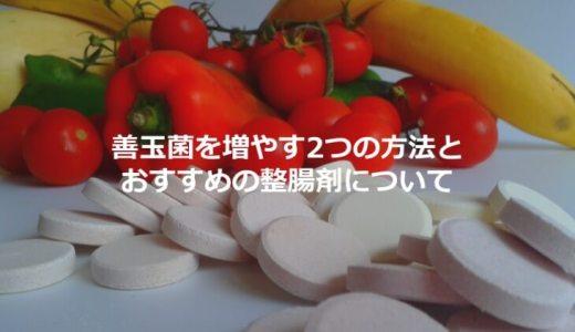 善玉菌を増やす2つの方法とおすすめの整腸剤(ミヤBM)について