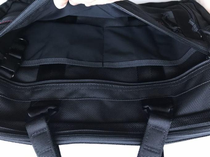 BRIEFING3wayバッグA4 3way LINER幅広タイプのジップポケット