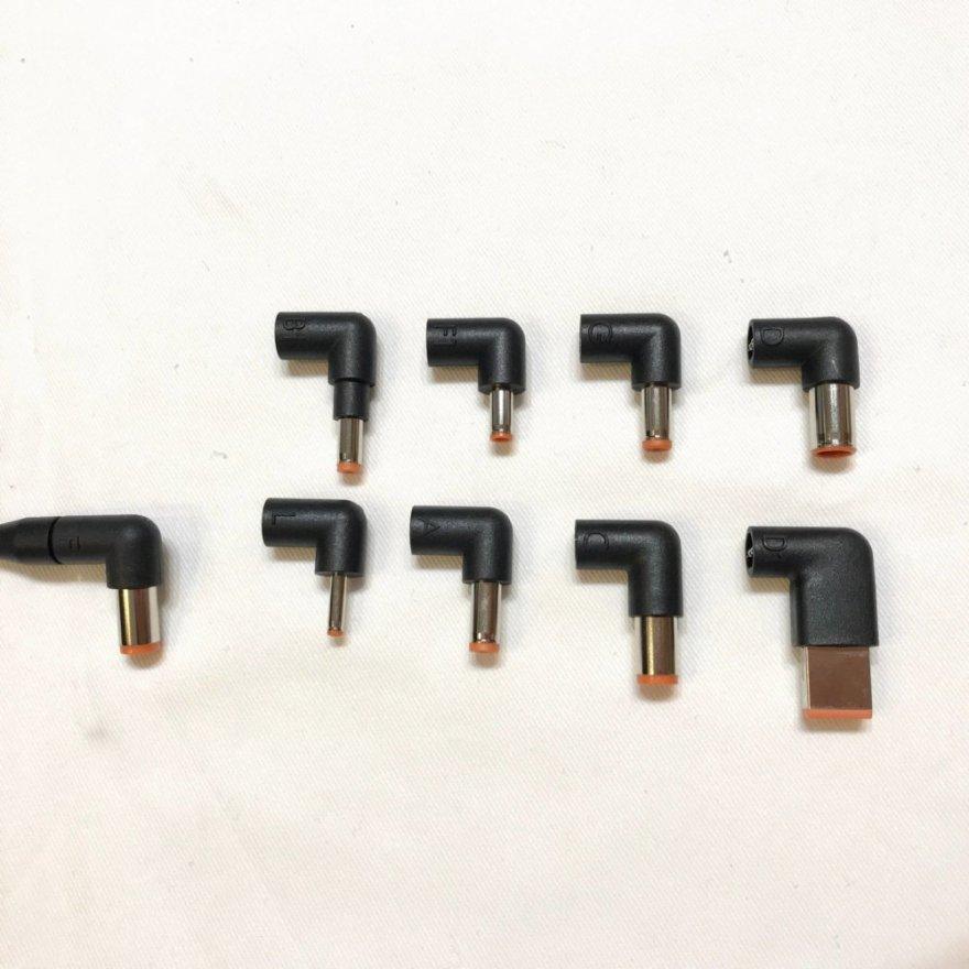 DARTの交換プラグは9種類付属