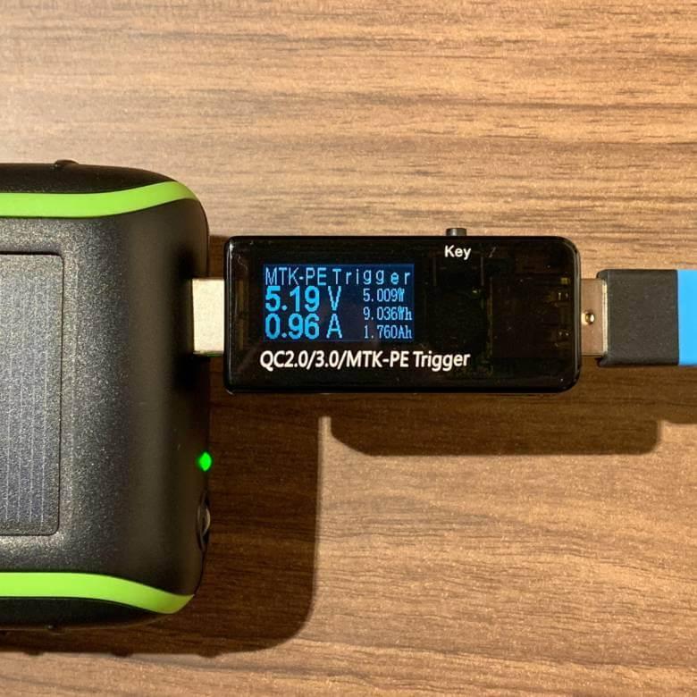Chargi-Q mini(チャージックミニ)はUSB2口搭載