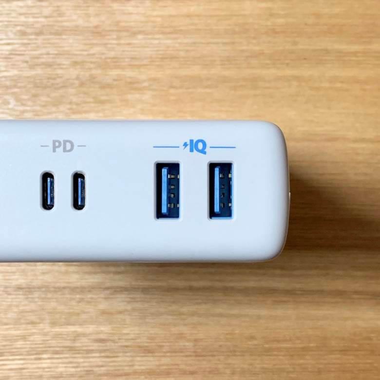 Anker PowerPort Atom PD4はPowerIQ対応USB-A搭載