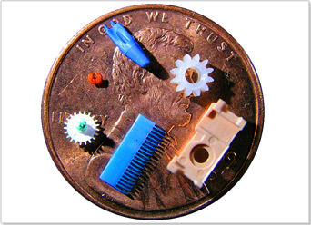 Specializing in injection molding of micro parts