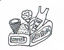 Aktivierungsksite mit Material für eine 10-Minuten-Aktivierung zum Thema Sommer