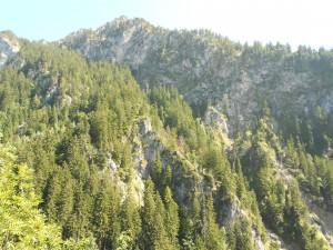 Die Berge müssen erklommern werden.